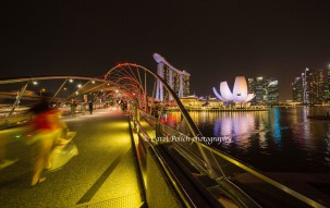 Singapore, Helix Bridge